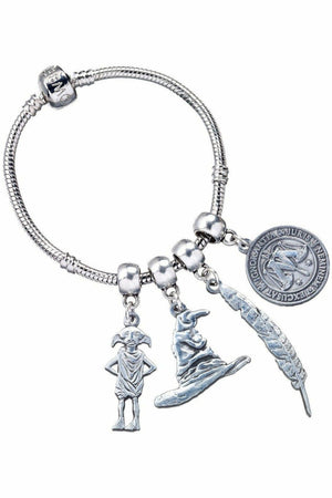 Harry Potter Slider Charm Bracelet (Silver Plated)