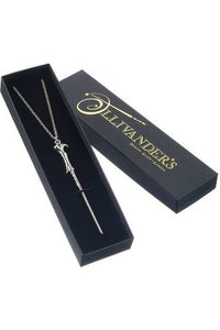 Lord Voldemort Wand Necklace (Silver Plated)