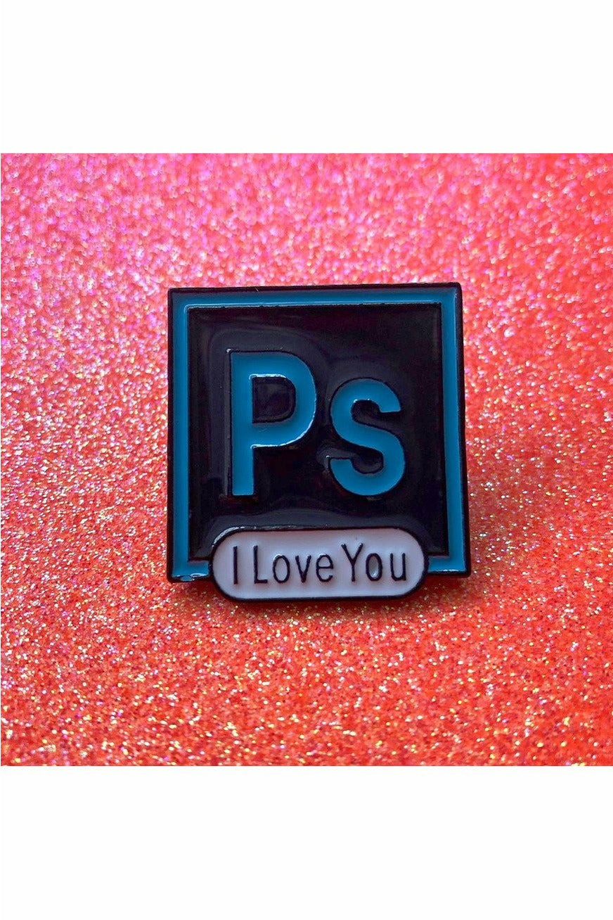 PS - I Love You Pin
