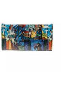 Beauty and The Beast Stained Glass Purse