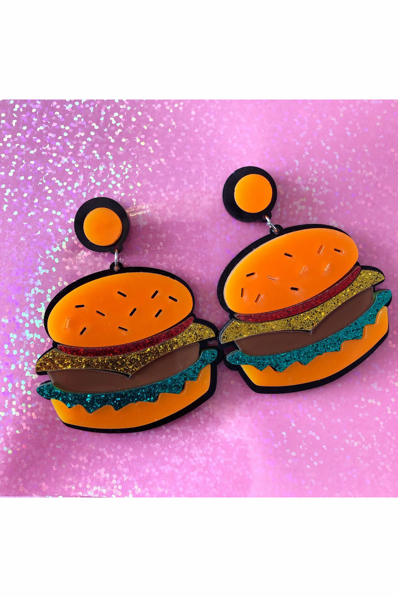 Burger Queen Earrings