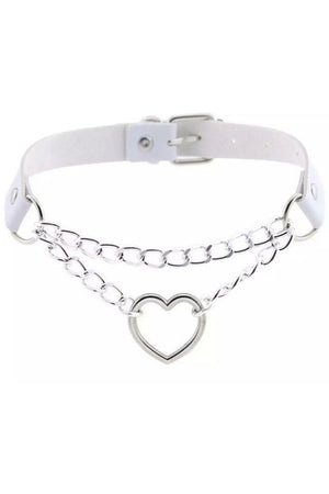 White Heart Choker