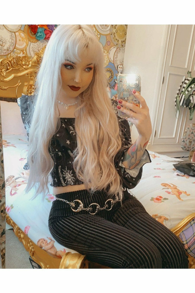 Celestial Puff Sleeve Top