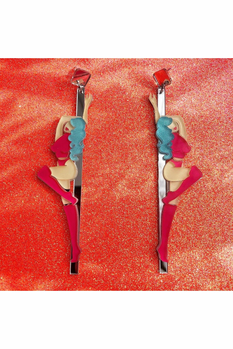 Pole Dancer Earrings