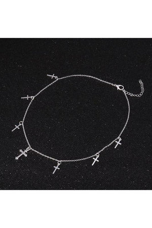 Crosses Choker