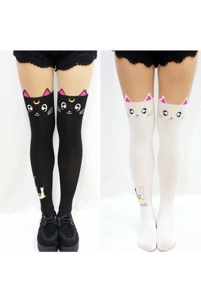 Sailor Moon Luna & Artemis Tights