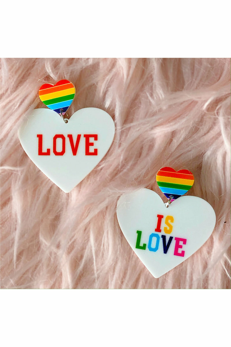 Love Is Love Earrings
