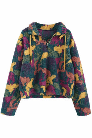 Animal Camouflage Fleece