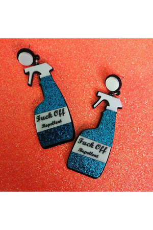 F*CK Off Repellent Earrings