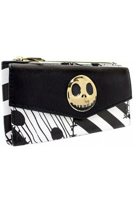 Jack Skellington Monochrome Purse