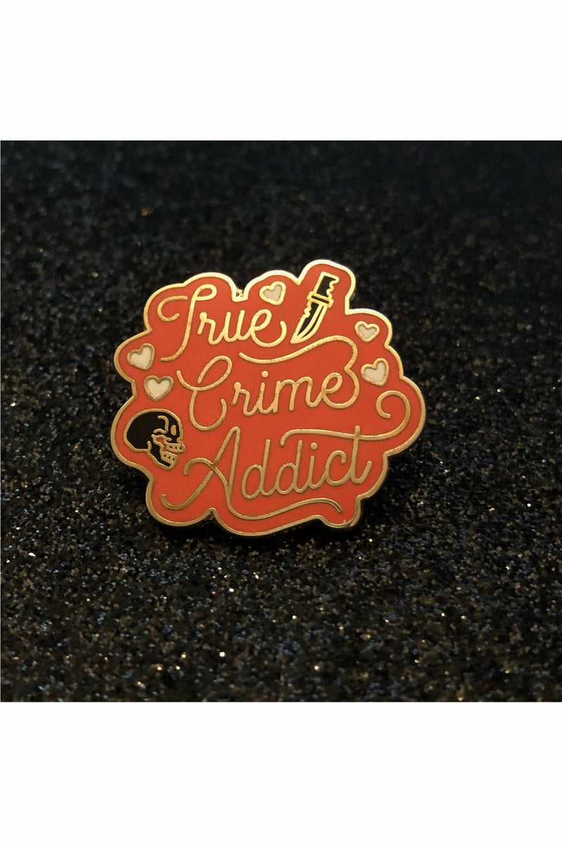 True Crime Forever Pin