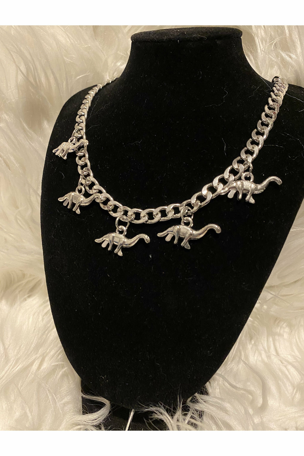 Dinosaur Choker Necklace