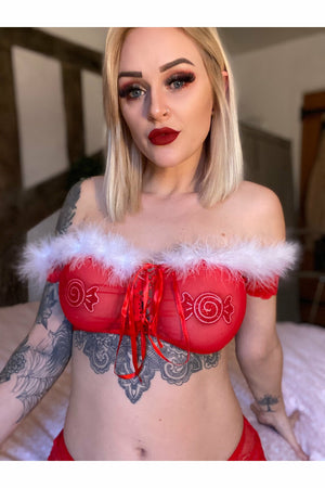 Naughty or Nice Lingerie Set