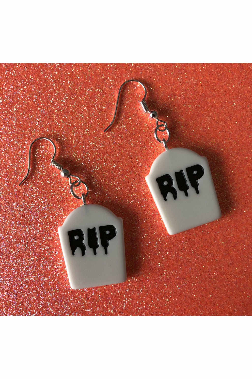 Tombstone Earrings