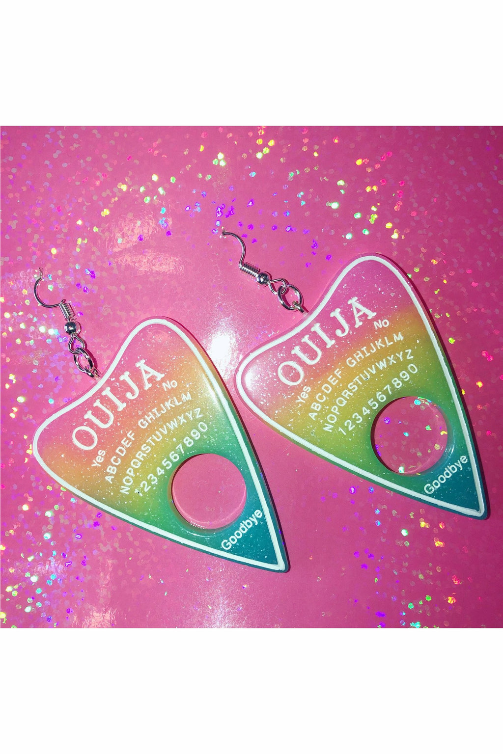 Ombré Ouija Earrings