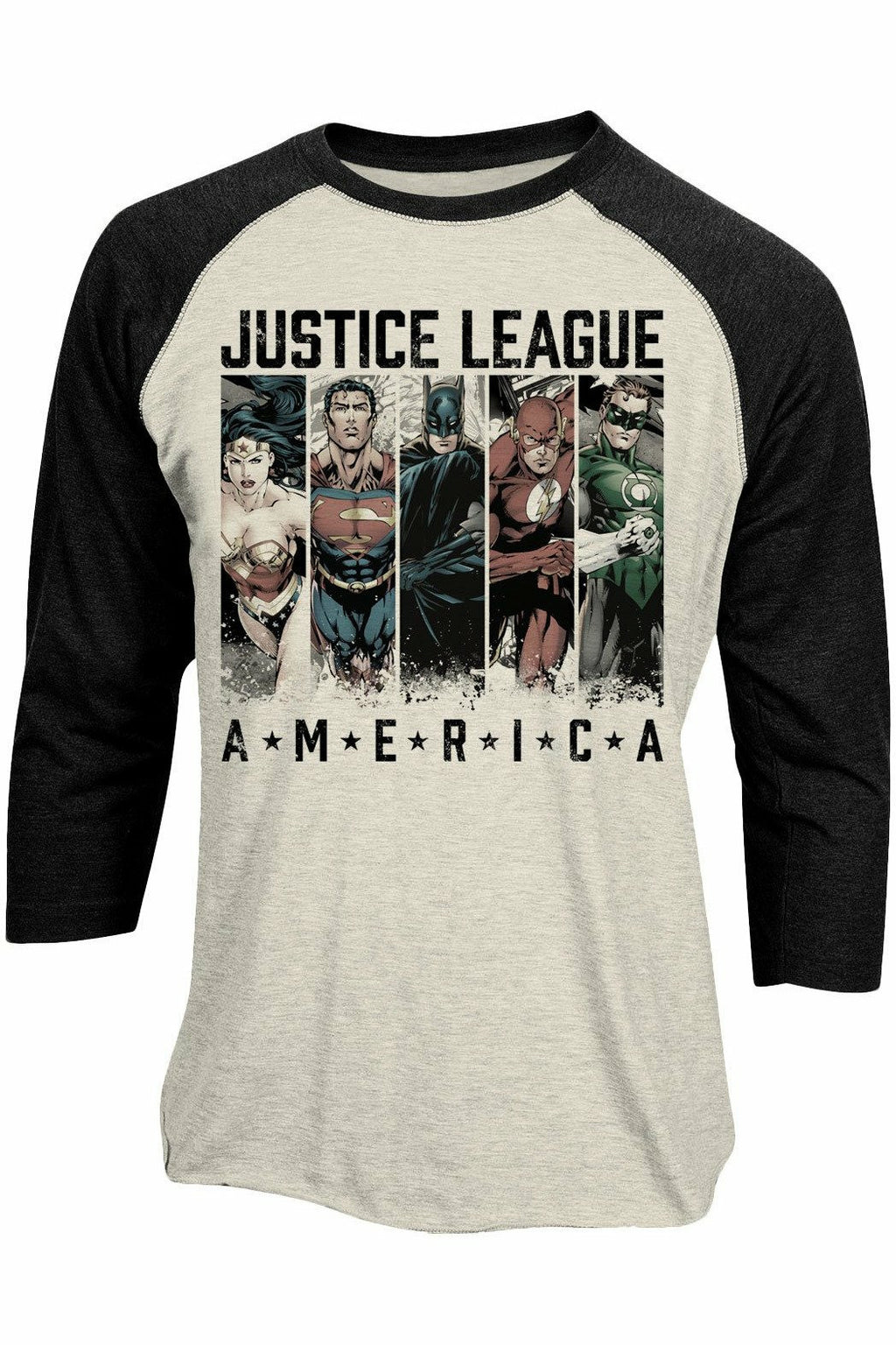 Justice League AMERICA Baseball Top