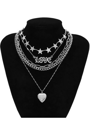 Cosmic Love Layered Choker