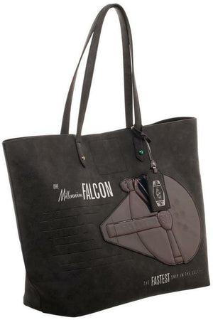 Star Wars Millennium Falcon Iridescent Tote Bag