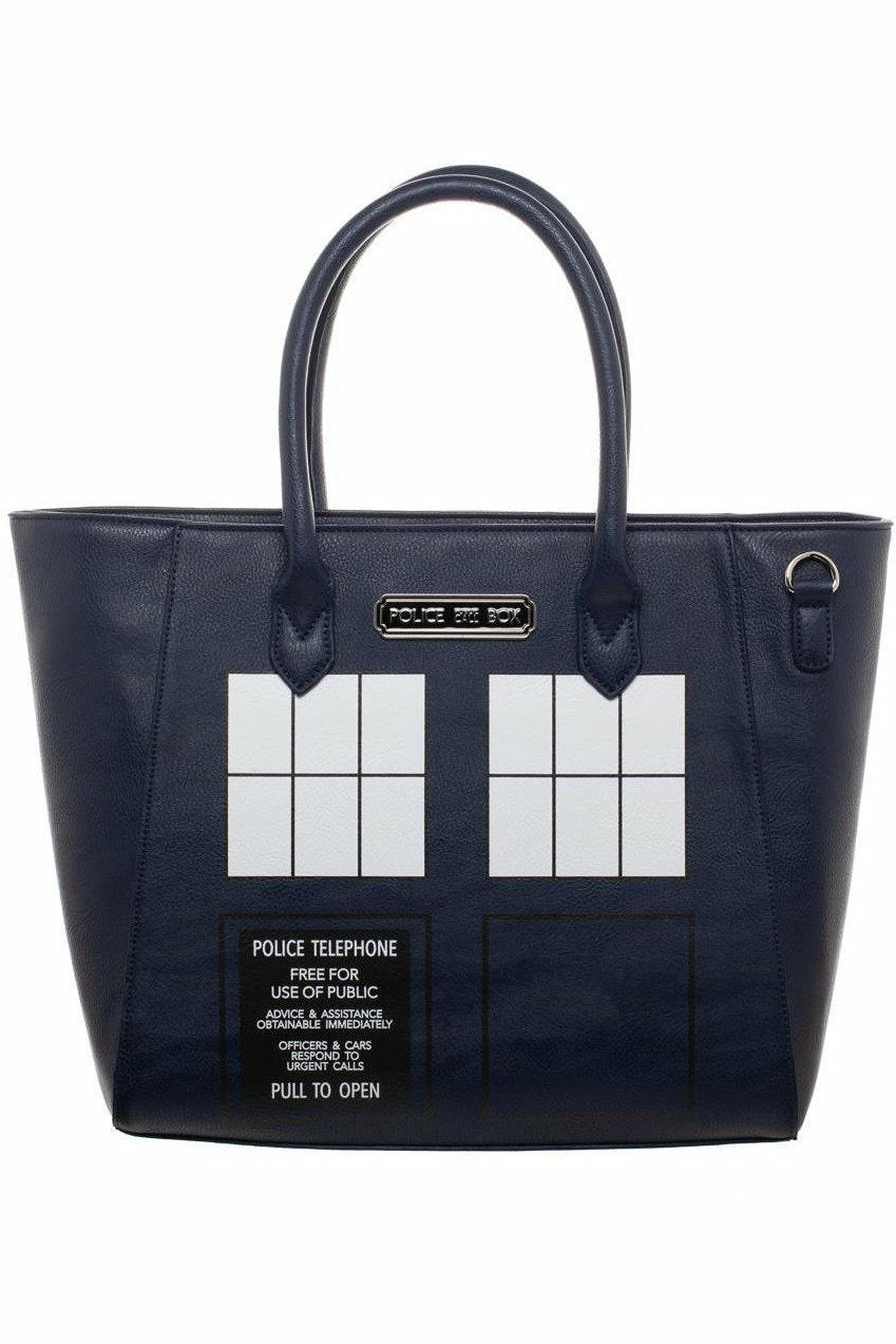 DOCTOR WHO : Tardis Tote Bag