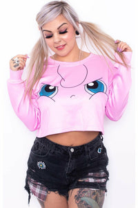 Jiggly-Puff Crop Sweater