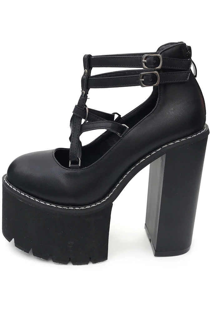 Lottie Pentagram Platform Shoes