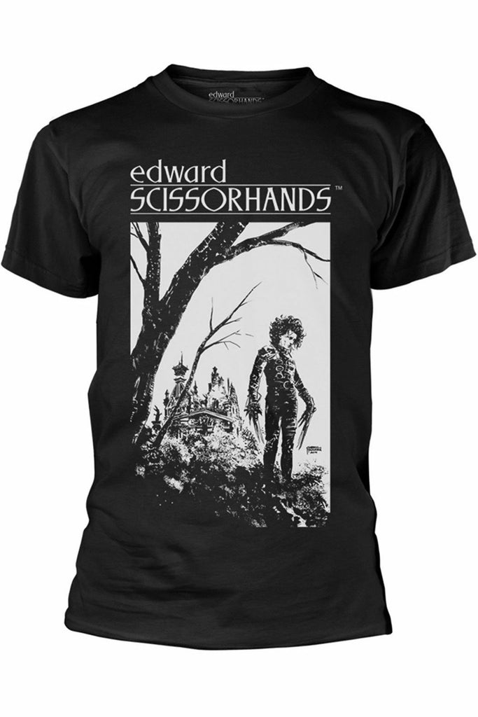 Edward Scissorhands Hilltop T-Shirt - Soft Kitty Clothing