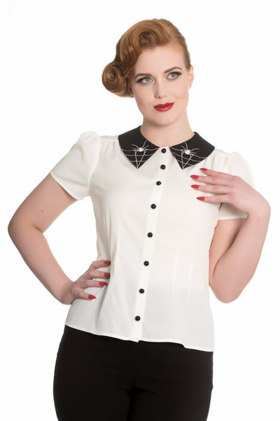 Miss Muffet Blouse