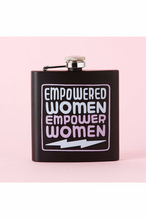 Empower Women Hip Flask