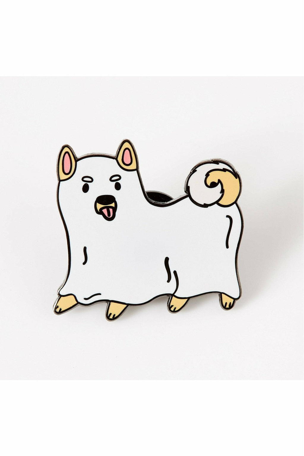 Ghost Dog Enamel Pin