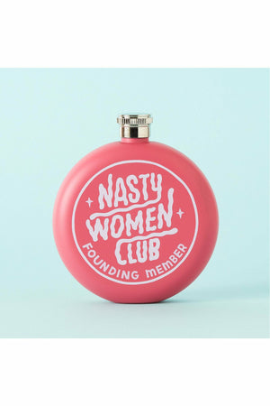Nasty Women Club Hip Flask