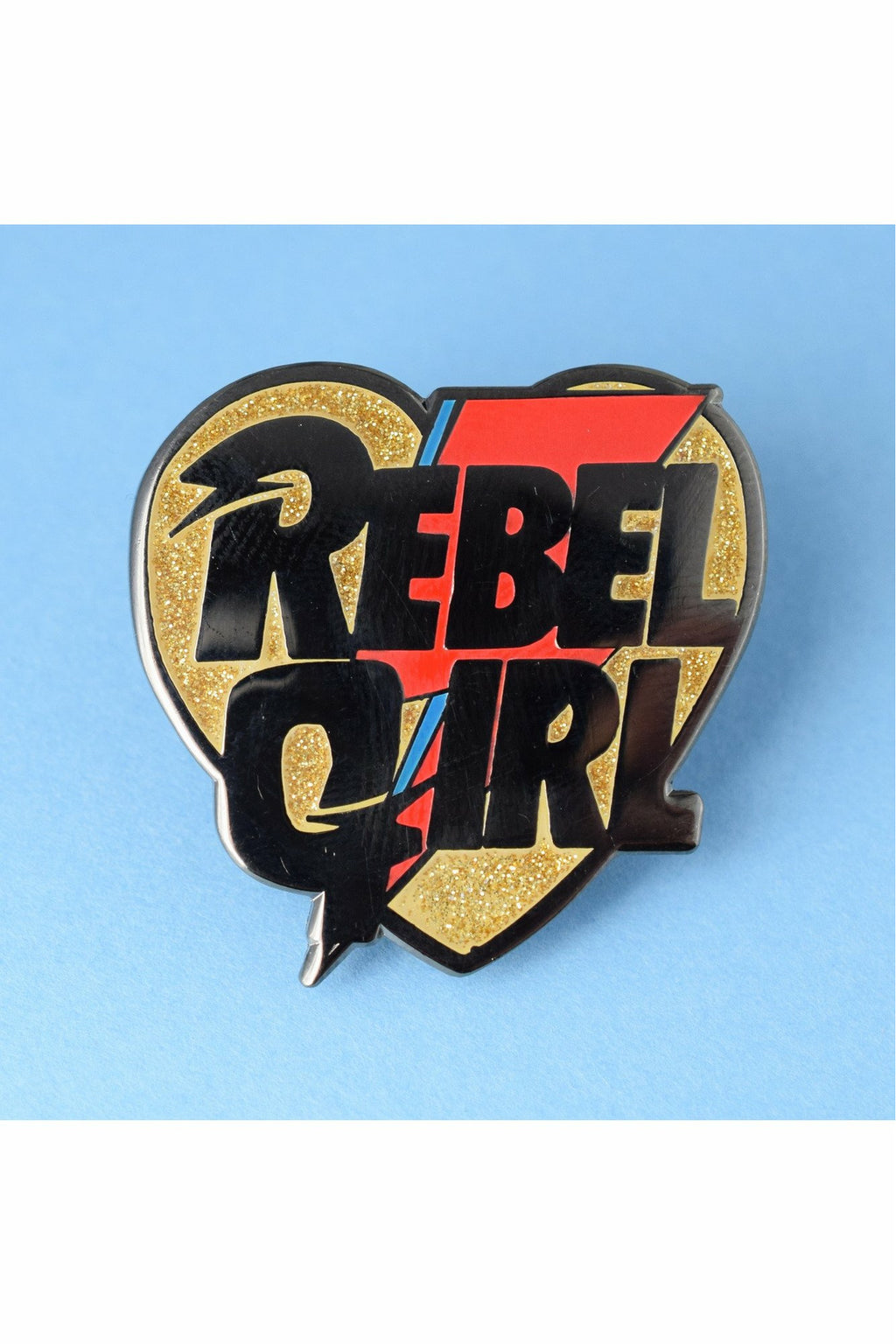Rebel Girl Pin