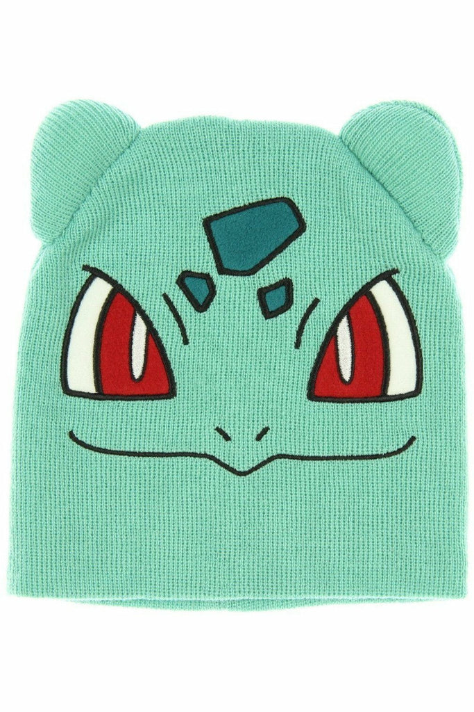 Bulbasaur Beanie Hat - Soft Kitty Clothing