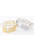 SLAVE Letter Choker [Multiple Colours Available]