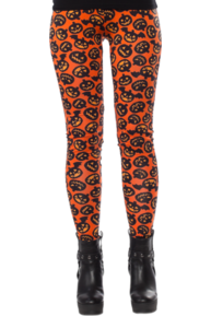 Batty Pumpkin Leggings