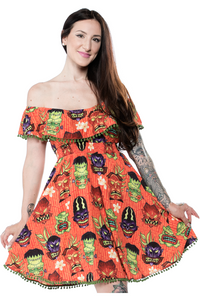 Tiki Monster Dress