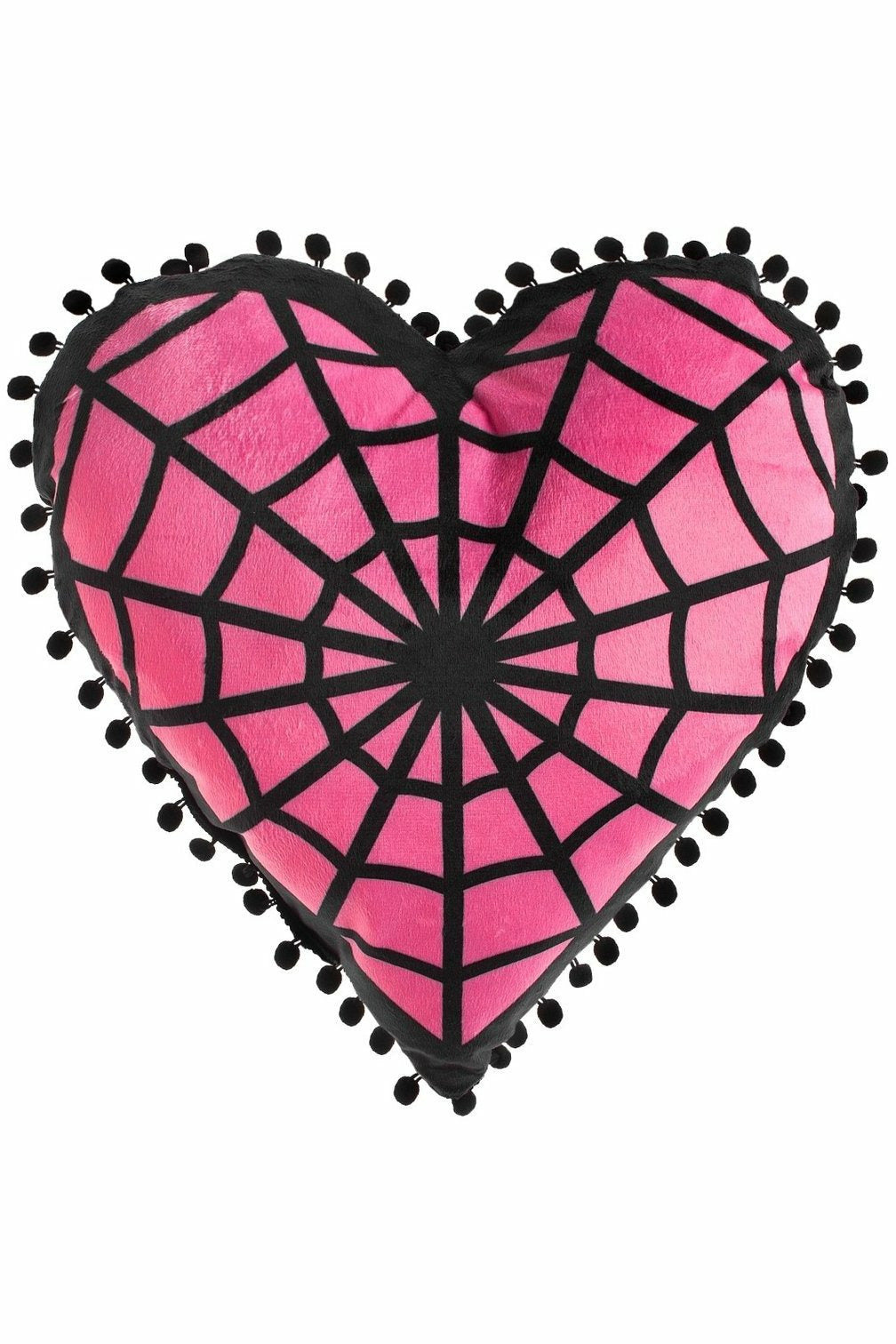 Webbed Heart Pillow