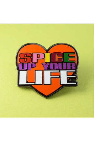 Spice Up Your Life Pin