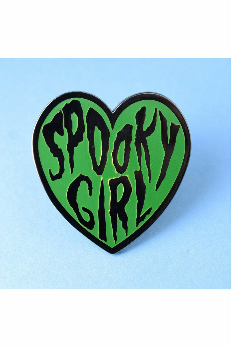 Spooky Girl Pin