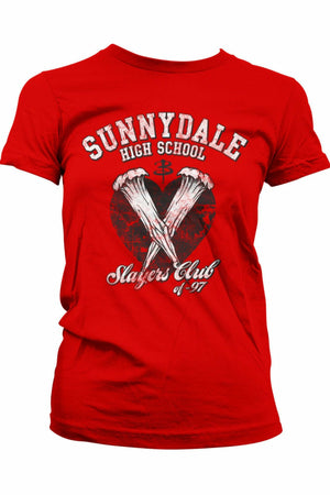 BUFFY : Sunnydale Slayers Club T-Shirt