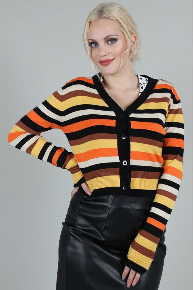 Candy Corn Cardigan