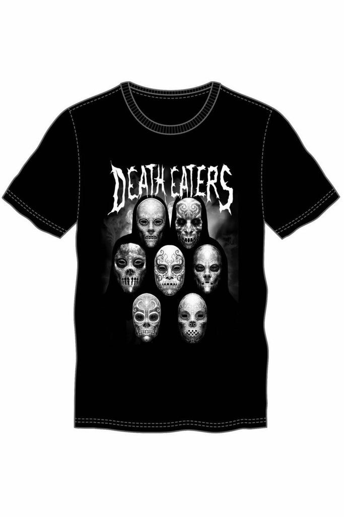 DEATH EATERS Metal T-Shirt - Soft Kitty Clothing