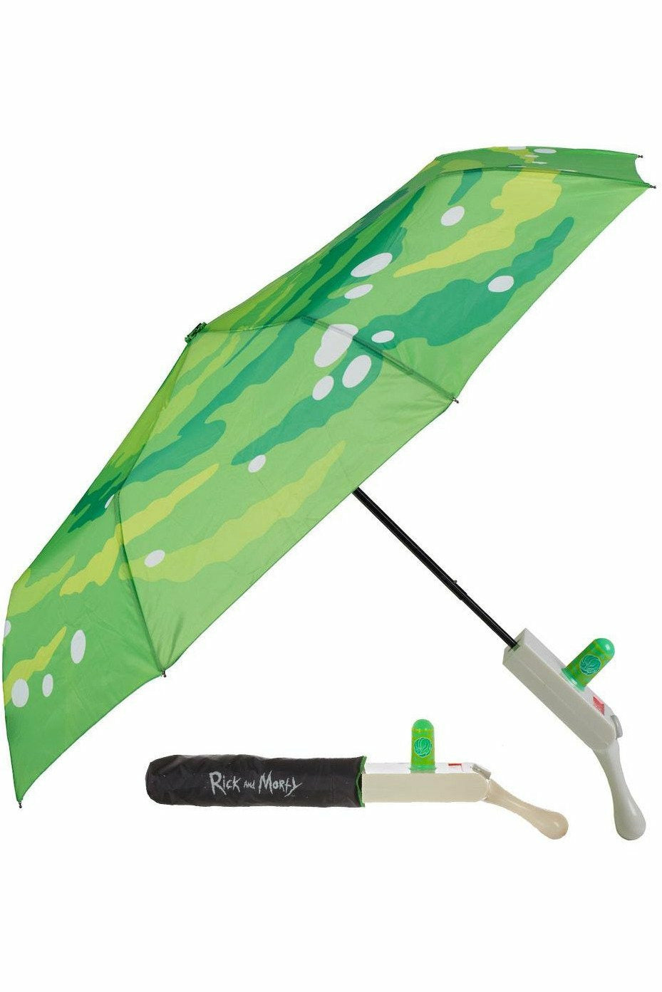 Rick and Morty Portal Gun Umbrella