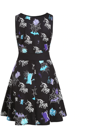Spooky Unicorn Dress