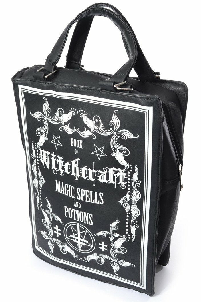Book of Witchcraft Large Bag