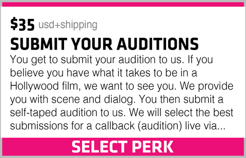 SUBMIT YOUR AUDITIONS