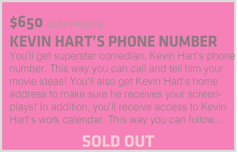 KEVIN HART'S PHONE NUMBER