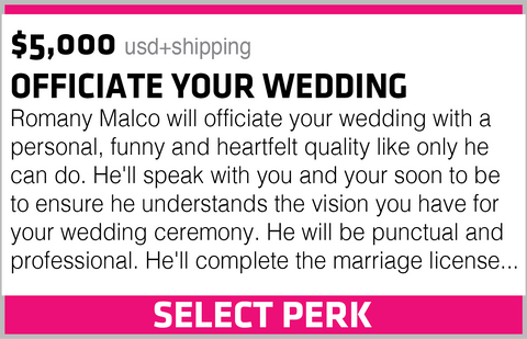 OFFICIATE YOUR WEDDING