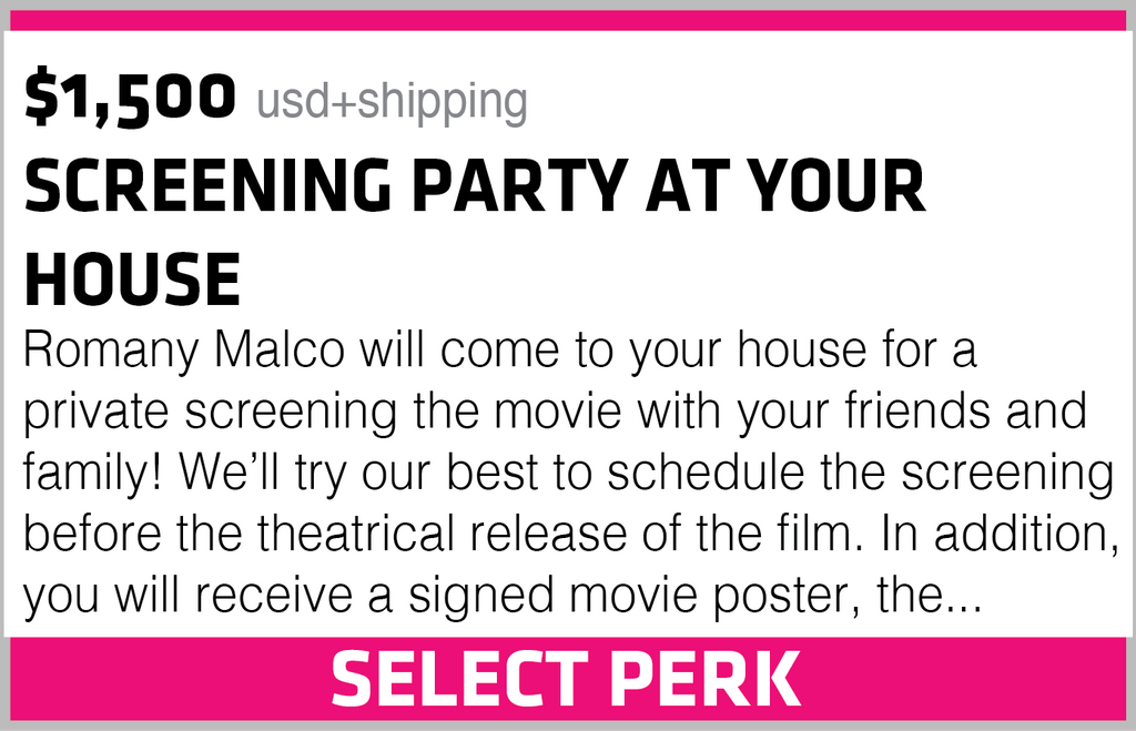 SCREENING PARTY AT YOUR HOUSE