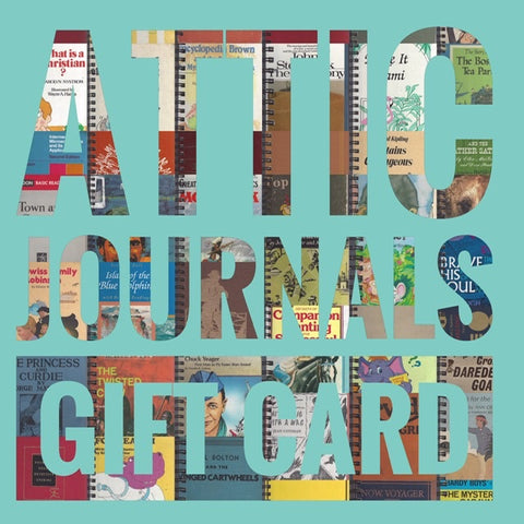 Attic Journals Gift Card