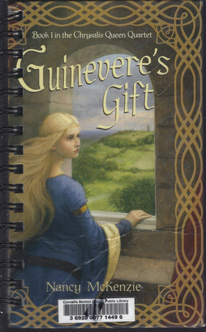 Guinevere's Gift (library sticker)